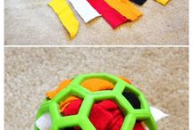 Dog toys/games