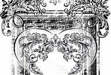 Printables ~ B&W Clipart