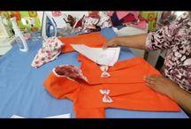 fazer roupa de bebe