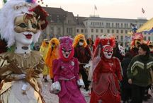 Fasnacht Basel / Mask ideas based on german and swiss Carnevale parades / by Susan Roy