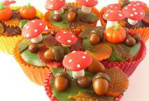 herfst cupcake's