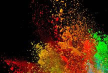 Wallpapers (Colorful explosions)