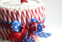 {HOLIDAYS} 4th of July / 4th of July crafts, recipes, party ideas, decor. All red, white and blue fun!