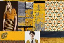 inspiration bord / The winning combination of images from nature, colors and products that people create
