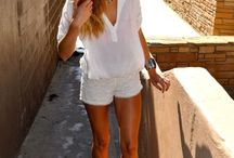 Love white / White outfits