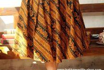skirt batik