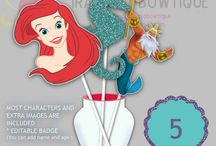 The Little Mermaid - Ariel - Party