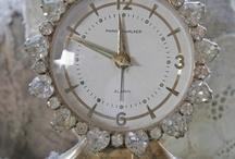Vintage Rhinestone Clocks