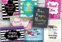 Occasions Note Card Sets