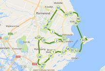 fiets route