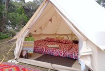 Bell Tents - Happy Glamper