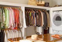 Walk in closet/laundry