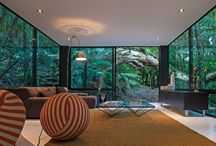 Modern / Living Spaces |  Inspirational Design | Glass |  Modern homes