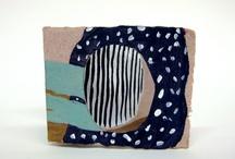 collage/art journals / by Michelle V.