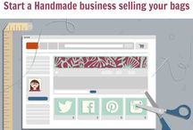 Sewing to sell - the business of sewing / by Deby Coles