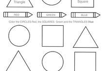 Preschool - Printables - Shapes