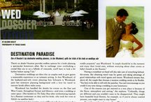 Outdoor Wedding Inspirations / Ideas and trends for beautiful outdoor weddings.