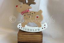 Christmas creations / Cute n crafty items handmade by me!