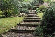 Scalini in giardino / Raccolta di idee per creare scalini in giardino
