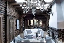Living Room / Interior design and decorating ideas for a living room, great room, gameroom