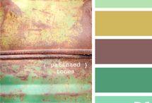 Palettes ✨ / Colour palettes.