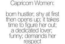 Capricorn  / My zodiac