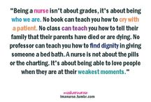 Being a Nurse / by Shelly Shoultes