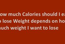How much Calories should I eat to lose Weight? / How much Calories should I eat to lose Weight depends on how much weight I want to lose and how much calories I need for my physical activity.  This is so because the calories you eat will either get burnt in the work you do or stored as fat in your body.