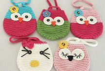 Crochet bags and handbags