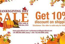 Thanksgiving Specials From GujaratFood