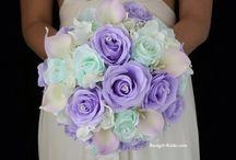 Miętowy i fiolet - kolory przewodnie