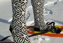 носки / узоры для носков