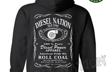 Diesel Nation Hoodies / We created the greatest line of clothing to celebrate the Diesel truck enthusiast life style.