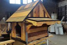 trabajos de madera de palet