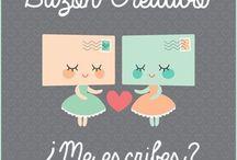 Buzon Creativo / Iniciativa española para mandar y recibir cartas creativas en nuestros buzones. Te animas a participar?! :)  Puedes apuntarte en mi blog: www.queenland.es Aquí verás las cartas enviadas y recibidas!