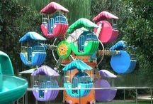 Double Ferris Wheels/Observation Wheels / Beston double side ferris wheel ride for sale