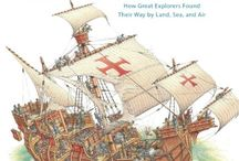 Book List: Explorers & Pirates / Classroom libraries, homeschools | reading lists | book lists | world explorers and pirates | literature, biographies, and historical texts