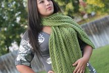 loom projects - scarf, cowls