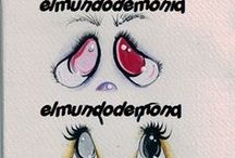 olhos  como pintar