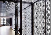 Interior wall CNC cutting / Interior