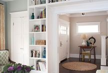 Bookcases / by Ashley Miller