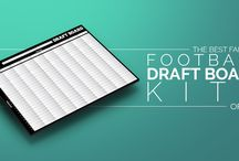 Best Fantasy Football Products / Reviewing the best fantasy football draft boards and prizes to find the best deals for the most inexpensive price.