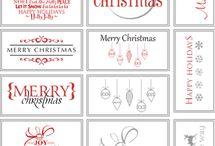 free printables christmas