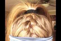 Sporty Hairstyles / Sporty Hairstyles for your active lifestyle.  Get ideas and inspiration for your next cute fitness look.  If you live in yoga pants or the gym. This board is for you!