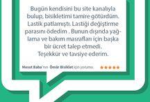 Yorumlar / by Ustası Burada!