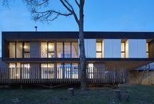 maison avec vue au mans (72) / maison contemporaine bois