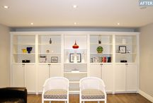 Home: Bookcases / by Michelle Loving My Life!