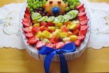 Rezepte: Obst dekorieren