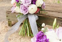 Purple wedding flowers by Florissimo / From luxe deep purples to delicate lavenders…