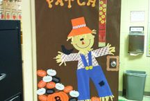 Fall Bulletin Boards / by Jennifer Kelley
